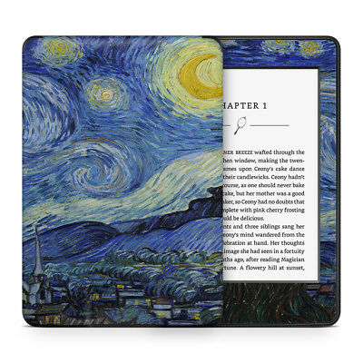 Van Gogh Starry Night Vinyl Skin Sticker to Cover, Protect & Personalise Kindle