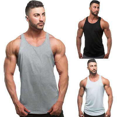0d4e47fae3b74e Mens Black Tank Top 100% Cotton A-Shirt Wife Beater Ribbed Undershirt Pack