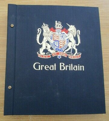 Great Britain - Fine Illustrated Davo Album All Pages 1840/1991 + Collection