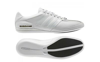 ADIDAS PORSCHE TYP 64 Mens White Leather Trainers Size Uk