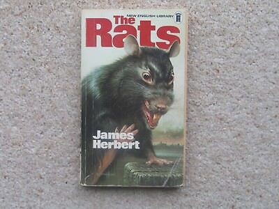 The Rats, James Herbert, First/1st Edition NEL Paperback + Fluke/Magic Cottage