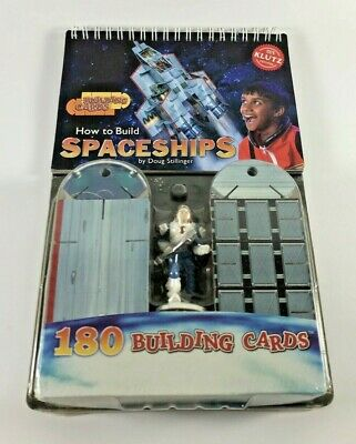 Doug Stillinger How To Build Spaceships Klutz 180 Building Cards Construction
