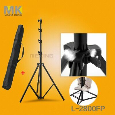 MK 9.2 Ft  Air Cushion Light Stand Photo Studio Photography Light Stand with Bag