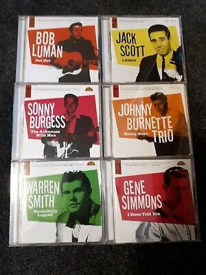 Job Lot of 6 Rockabilly CDs - All Complete Series of Rock n Roll - Snapper Music