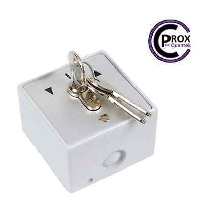 Hardwired Roller Shutter Geba Key Switch - 16amp - Water and dust proof!