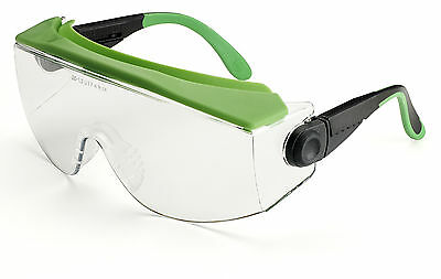 Univet 551 Safety Glasses With Flexible Brow Guard Workwear Specs (551.03.31.00)