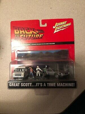 Back To The Future Johnny Lightning Great Scott Its A Time Machine 2002 New