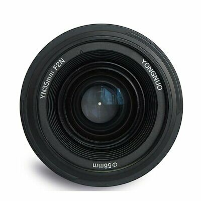 GS YONGNUO YN35mm F/2 Prime Auto Focus Lens same as EF 35mm F2 for Canon Cameras