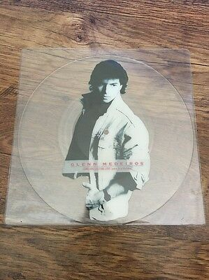 """❣RARE❣UNCUT PICTURE DISC 12""""•Long And Lasting Love~Glenn Medeiros"""