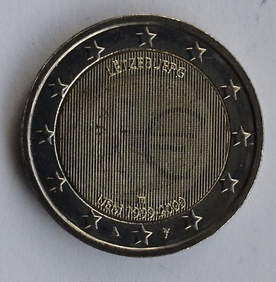 LUXEMBOURG - 2 € common commemorative euro coin 2009 EMU uncirculated