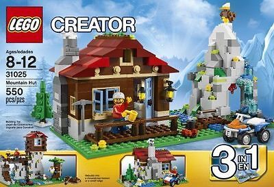 LEGO Creator Mountain Hut (31025) New In Factory Sealed Box