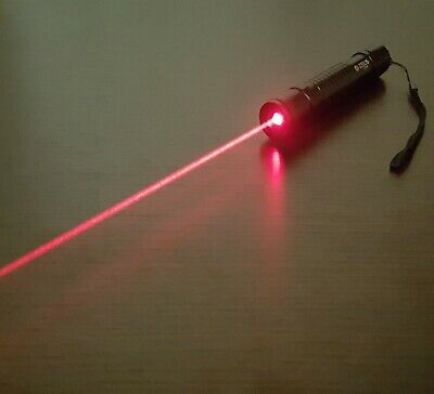 Red Laser Pointer Pen 1mW Focusable Beam 650nm Wicked High Power Lazer