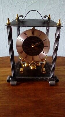 Vintage Kundo kieninger & Obergfell Wrought Iron Clock - Made in West Germany