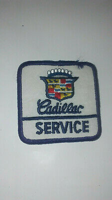 Vintage 1970's Cadillac Service Department Patch