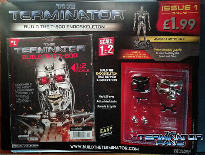 The Terminator Build The T-800 Endoskeleton = 1: 2 Scale = Issue 1 = Hatchette