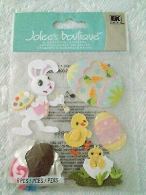 Jolees Boutique Bunny Artist Easter Scrap Booking Stickers