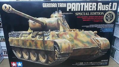 Tamiya 1/35 German Tank Panther Ausf.D Special Edition Model Tank Kit #25182