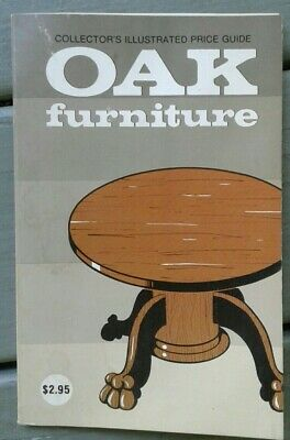 Vintage COLLECTOR'S ILLUSTRATED PRICE GUIDE OAK FURNITURE