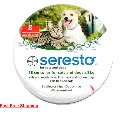 Seresto/Foresto Bayer Flea Tick Collar 38cm For Small Medium Dogs/Cats