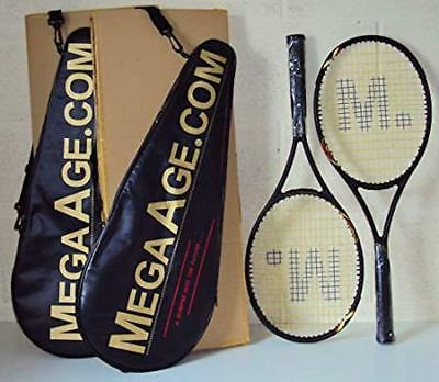 EXCELLENT VALUE TENNIS RACQUETS - 'MegaAge' - BRAND NEW - (USA made) - RRP-£70+