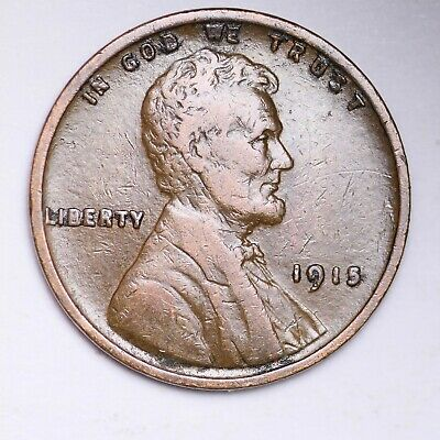 AU 1915 Lincoln Wheat Cent Penny FREE SHIPPING
