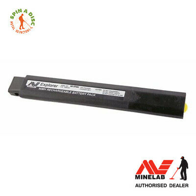 Minelab 1800 NiMH Rechargeable Battery for all Minelab FBS Metal Detectors