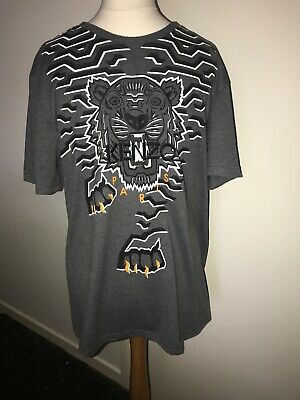 WAS £255 Kenzo Tiger Zip Sweatshirt REDUCED TO CLEAR NOW £165!! Grey