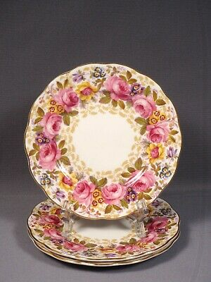 Royal Albert Serena Bread and Butter Dessert Plate(s) Bone China England Gold