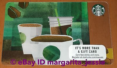 """Starbucks US Gift Card """"Beans to Coffee"""" NO VALUE NEW #6131 COLLECTIBLE"""