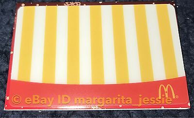 McDonald's 2016 ARCH GIFT CARD FRENCH FRIES NO VALUE CANADA NEW COLLECTIBLE