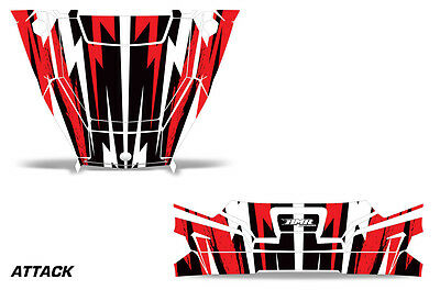 UTV Hood and Tailgate Graphics Kit Decal Wrap For Polaris General 1000 ATTACK R