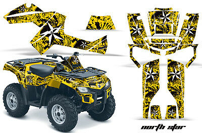 ATV Graphics Kit Decal Wrap For Can-Am Outlander 500/650/800/1000 06-11 NSTAR Y