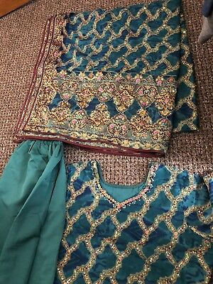 2a06e61aa8 ladies Asian Indian Suit Wedding Boutique Designer Party Dress Gul Ahmed  Warda