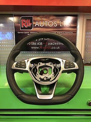 Mercedes C Class W205 AMG Steering Wheel With Paddle Shifts