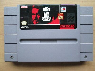 Super Nintendo - SNES - USA - NTSC - The Hunt for Red October - Game ONLY