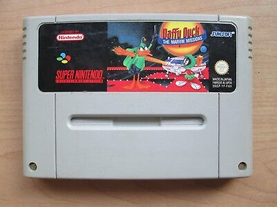 Super Nintendo - SNES - Daffy Duck The Marvin Missions  - Game ONLY