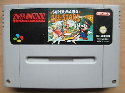 Super Nintendo - SNES - Super Mario All*Stars- Game ONLY