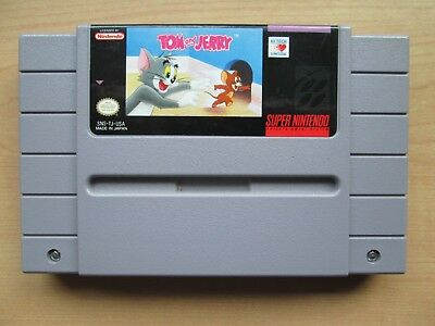 Super Nintendo - SNES - Tom and Jerry (USA Game) - Game ONLY