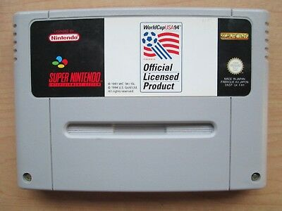 Super Nintendo - SNES - World Cup USA 94- Game ONLY