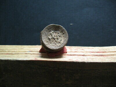 BYZANTINE EARLY MEDIEVAL LEAD SEAL BULA 7-9 ct. A.D. 18 mm