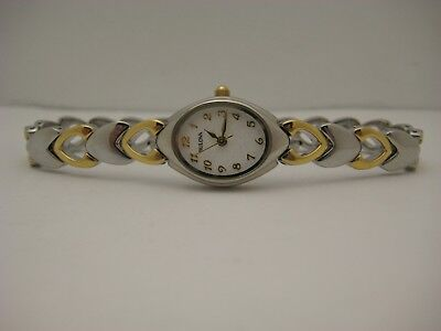 Ladies Bulova 2-Tone 98V02 Quartz Watch