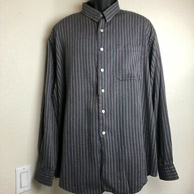 Neiman Marcus Exclusive Mens  XXL Shirt Long Sleeve Button Down 2X Tailored USA