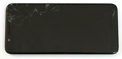 Oem T-Mobile Revvl 2 5052W Replacement~Working Lcd~Cracked Digitizer~Frame