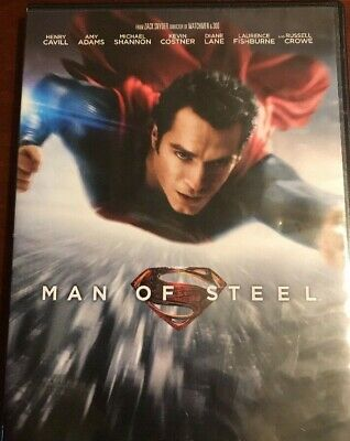 #4 MAN OF STEEL Brand New DVD FREE SHIPPING