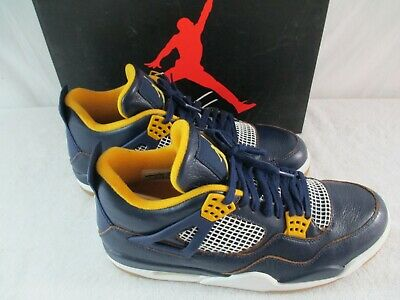 f2522bb46a7c Nike Air Jordan 4 Retro Dunk From Above Size 11.5 Style 308497 425 Navy