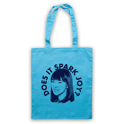 Marie Kondo Unofficial Does It Spark Joy? Tidying Up Tote Bag Life Shopper