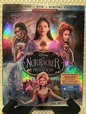 The Nutcracker and the Four Realms (Blu-ray/DVD and digital, 2019, 2-Disc Set,