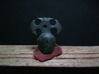Labris Axe Votive Amulet Ancient Celtic Bronze Warriors Talisman 300-100 B.c.