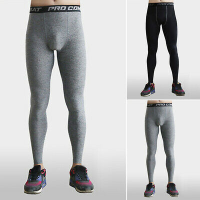 2b362e50d2f54 Mens Compression Tights Base Layer Running Yoga Body Armour Gym Pant  Trousers