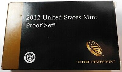 2012 United States Mint Proof Set    ORIGINAL AS ISSUED Deep Cameo Coins